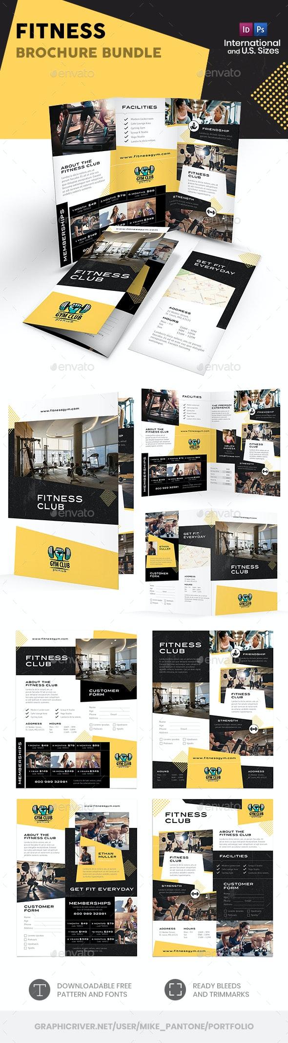 Fitness Print Bundle - Informational Brochures