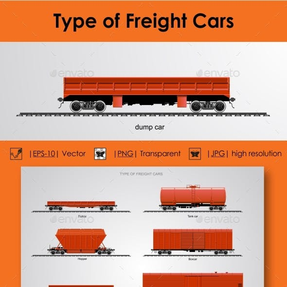 Type of Freight Cars