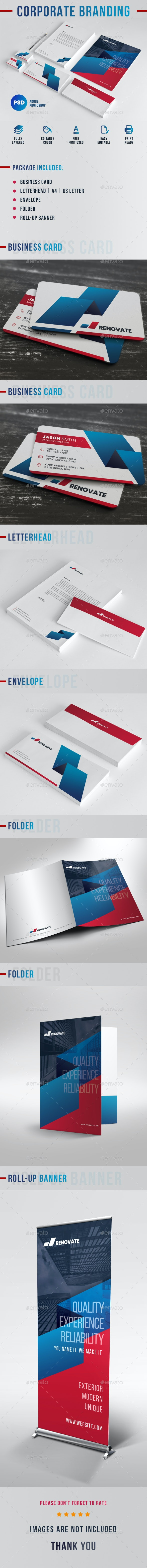 Corporate Branding - Stationery Print Templates
