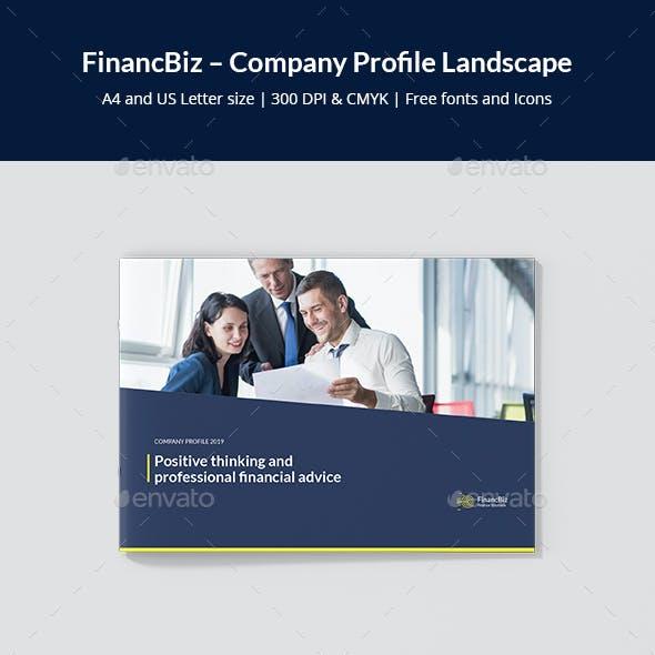 FinancBiz – Company Profile Landscape