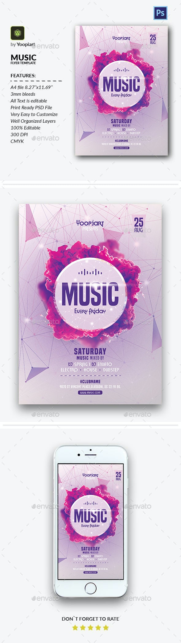 Music Flyer - Events Flyers