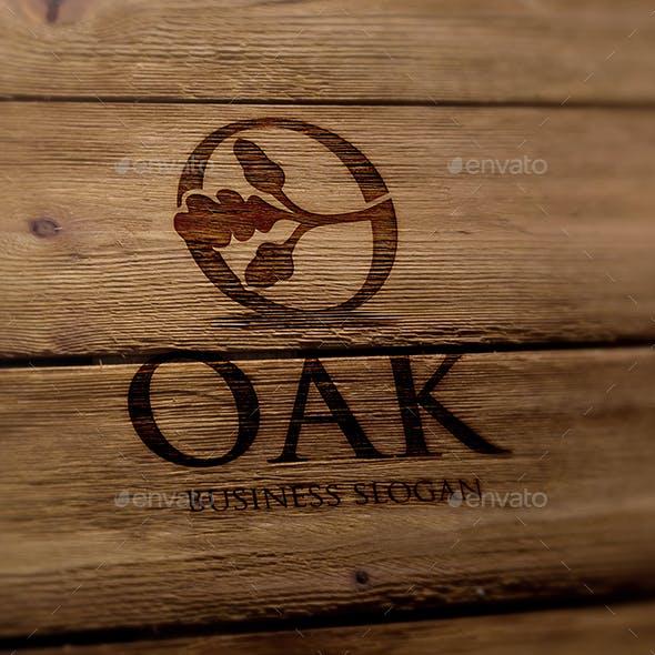 Oak O Letter Logo