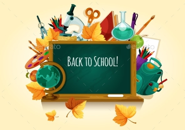 Back to School Chalkboard - Miscellaneous Conceptual