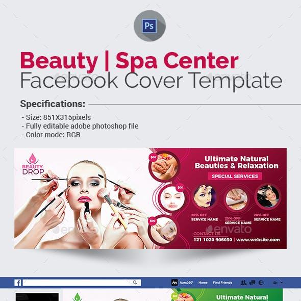 Beauty & Spa Center Facebook Cover