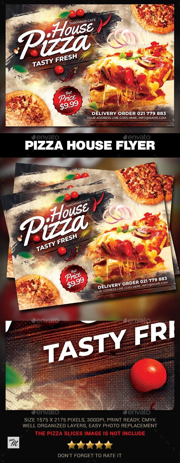 Pizza House Flyer - Restaurant Flyers