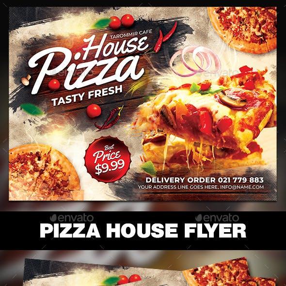 Pizza House Flyer