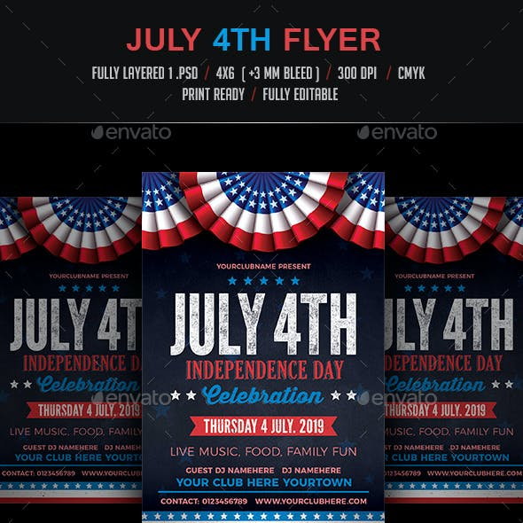 July 4th Flyer