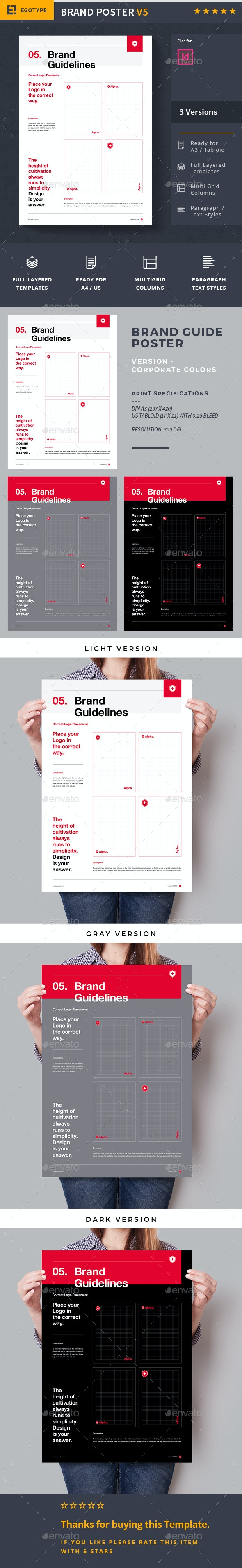 Brand Manual - Corporate Flyers