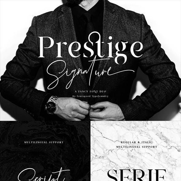 Prestige Signature-Serif & Script