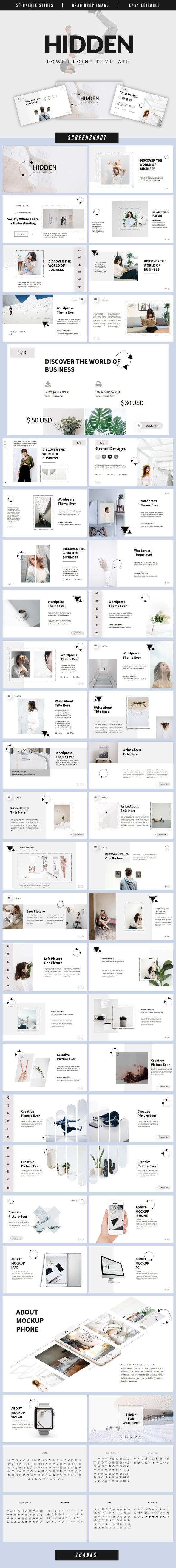 Hidden Business Powerpoint - Business PowerPoint Templates