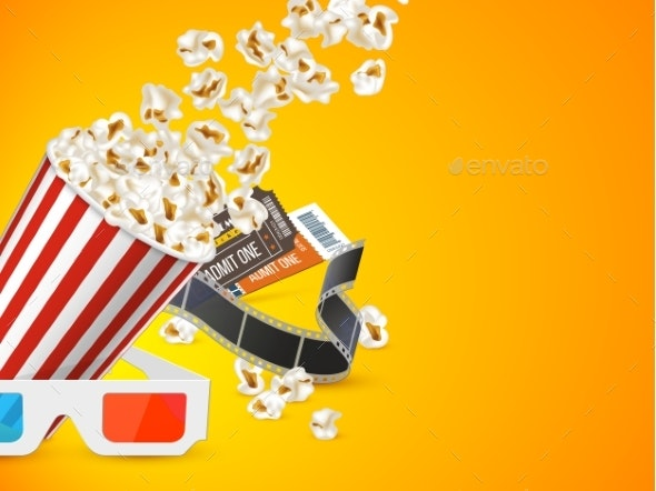 Cinema and Movie Poster Design - Backgrounds Decorative