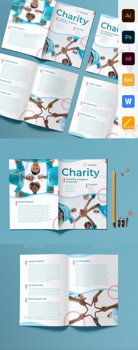 Charity Bifold Brochure - Corporate Brochures