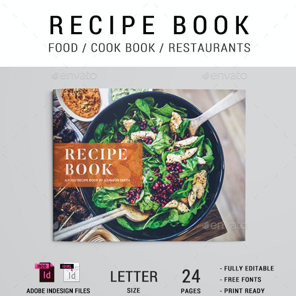 Cook Book / Recipe Brochure