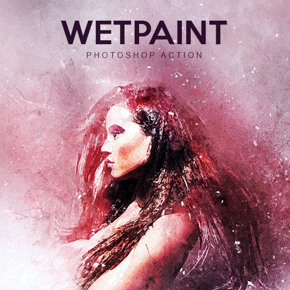 WetPaint - Photoshop Action