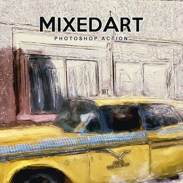 MixedArt - Photoshop Action