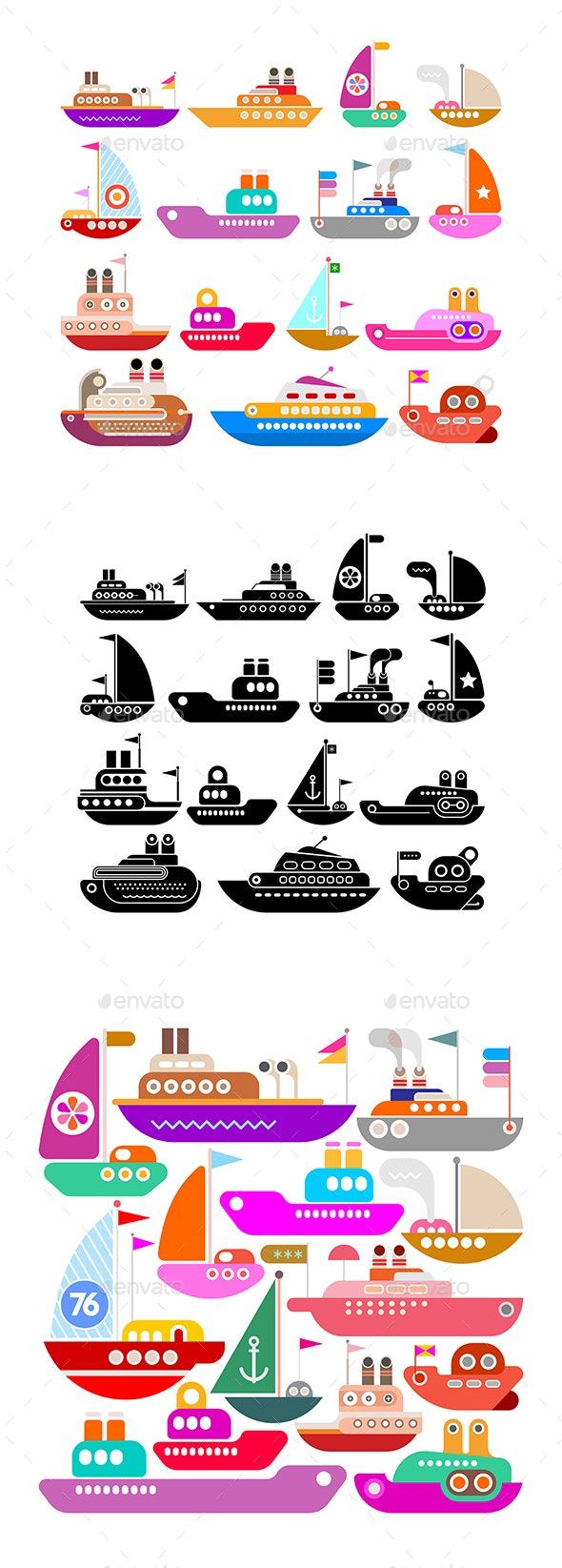 Ships - Man-made Objects Objects