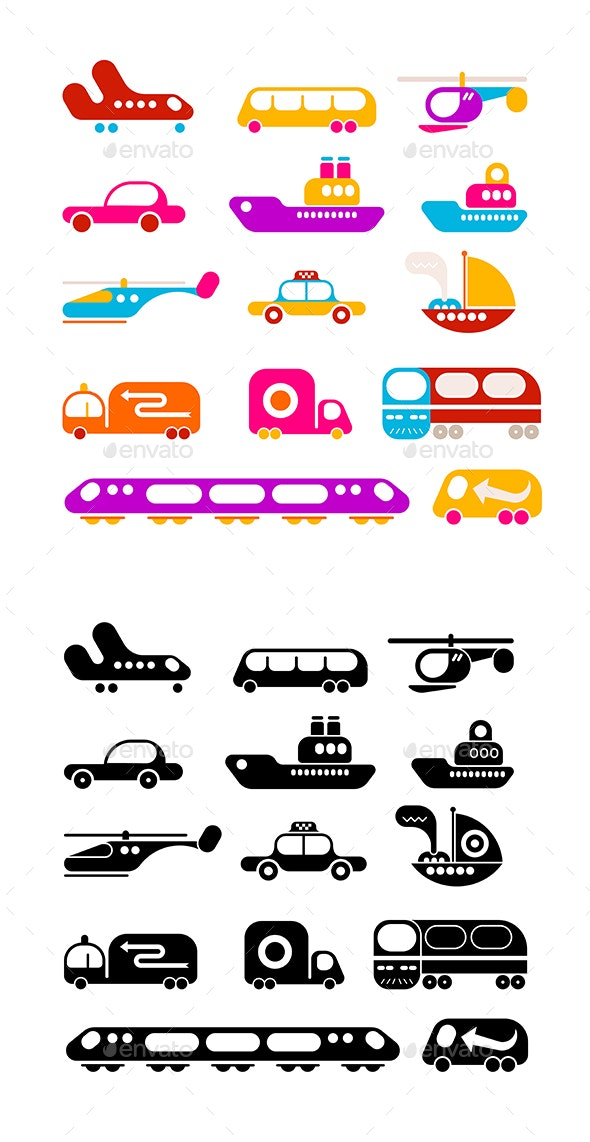 Transportation - Man-made Objects Objects