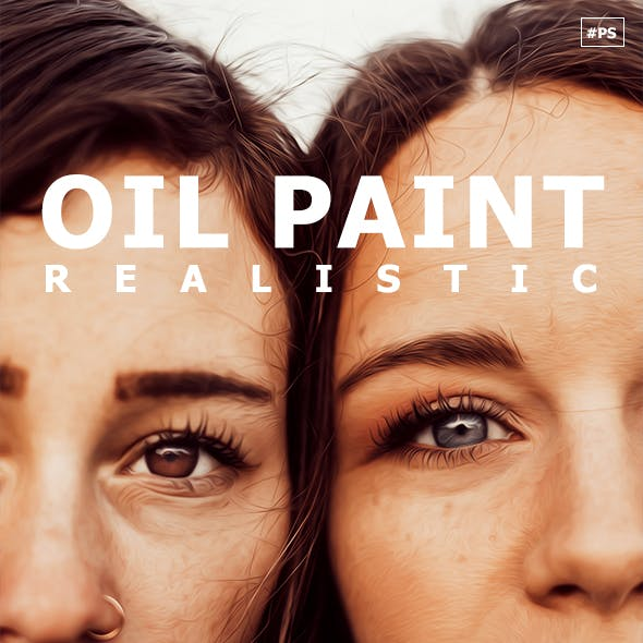 Oil Paint Realistic Action