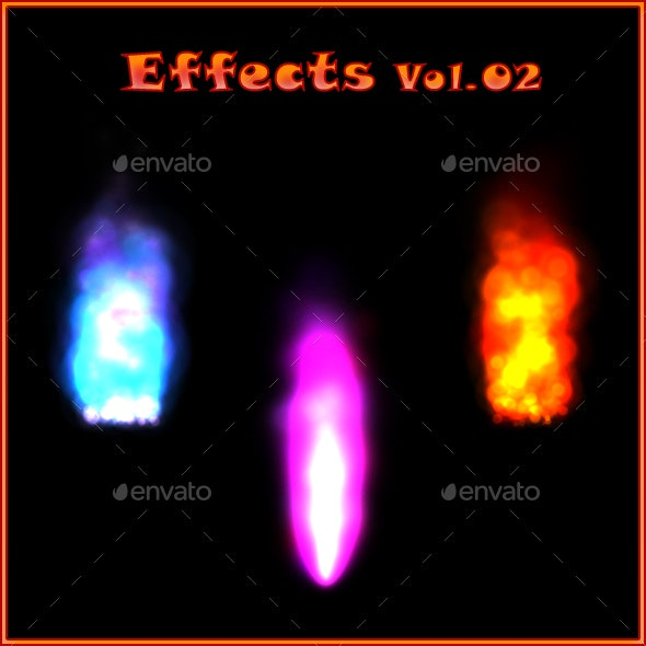 Effects Vol 02 - Sprites Game Assets