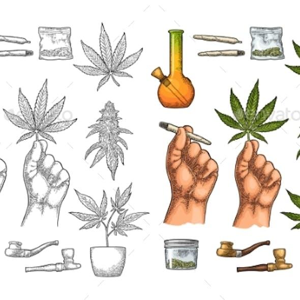 Marijuana Set