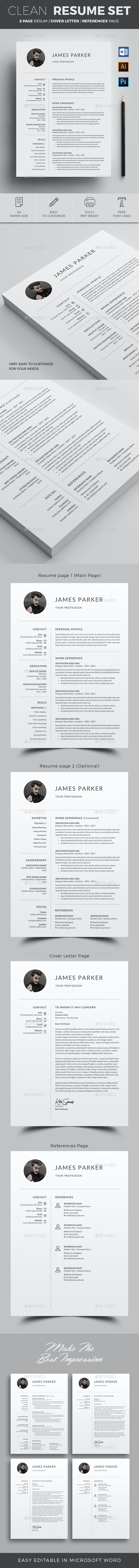 Resume Set - Resumes Stationery