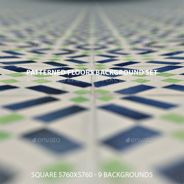 Patterned Floors Background Set
