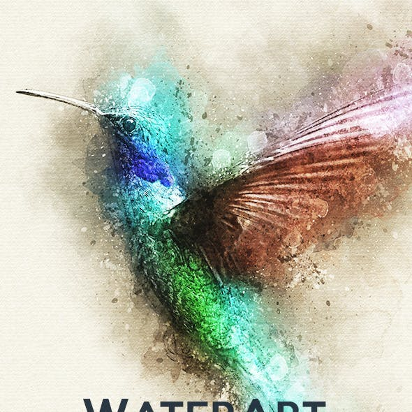 WaterArt - Photoshop Action