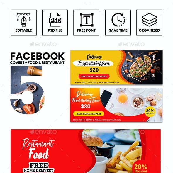 Food & Restaurant FB Timeline Cover