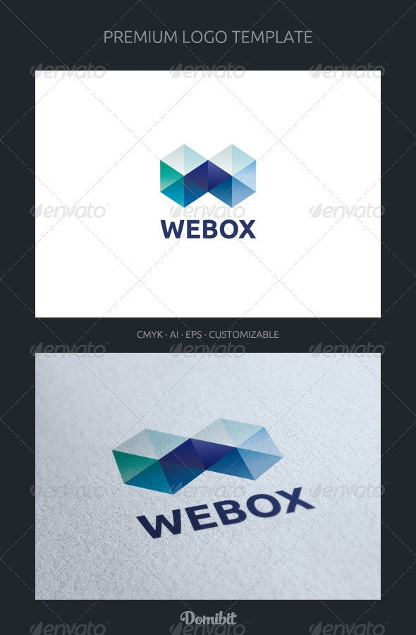 Abstract Letter W Logo Template - 3d Abstract