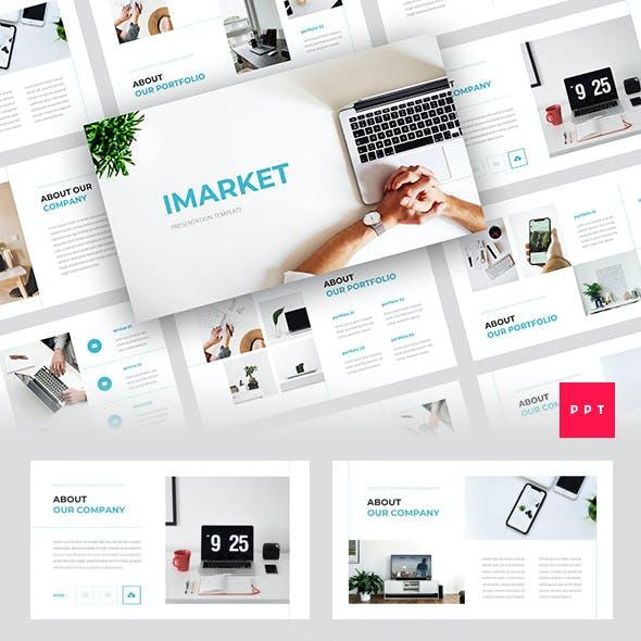 Imarket - Internet Marketing PowerPoint Template