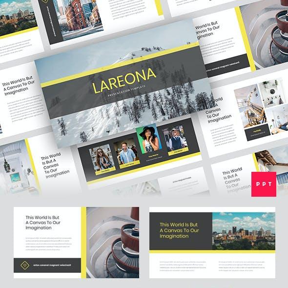 Lareona - Creative PowerPoint Template