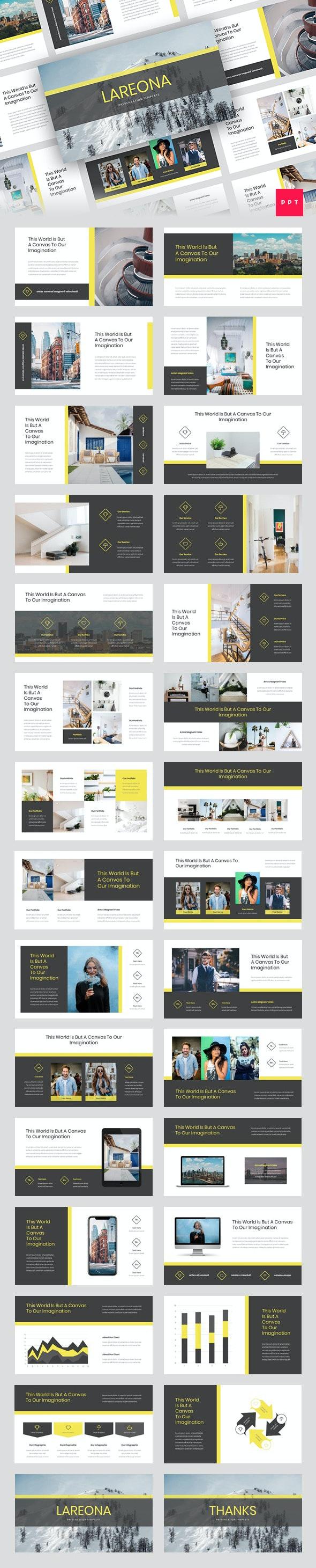 Lareona - Creative PowerPoint Template - Creative PowerPoint Templates