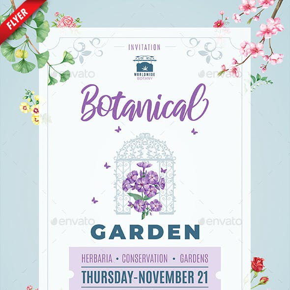 Botanical Garden Business Flyer