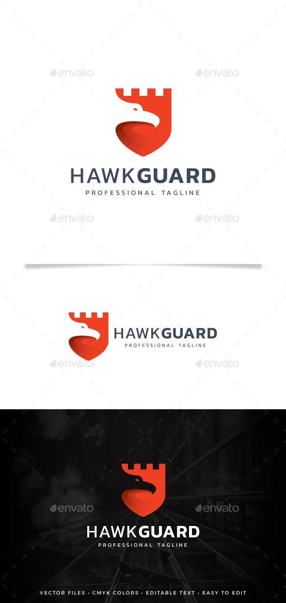 Hawk Guard Logo - Symbols Logo Templates