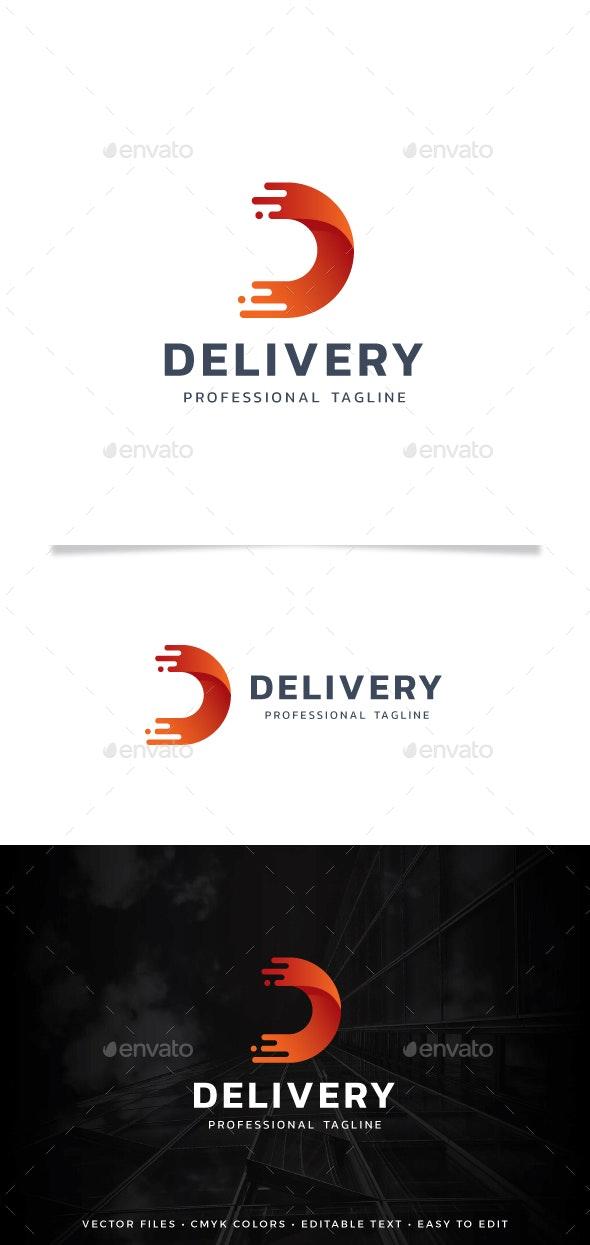 Letter D - Delivery Logo - Letters Logo Templates