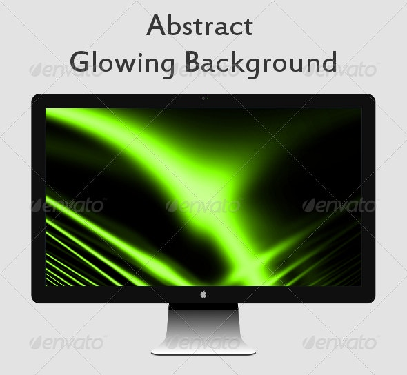 Abstract Glowing Background - Abstract Backgrounds