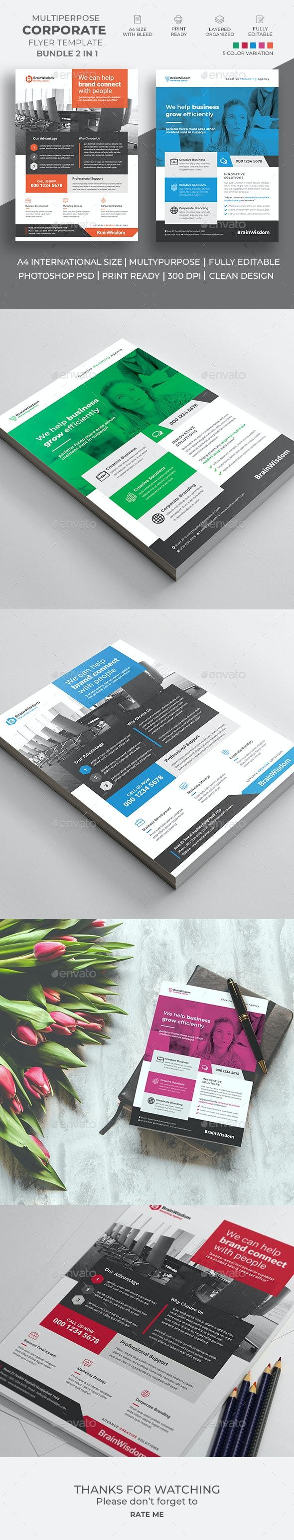 Corporate Flyer Bundle 02 - Corporate Brochures