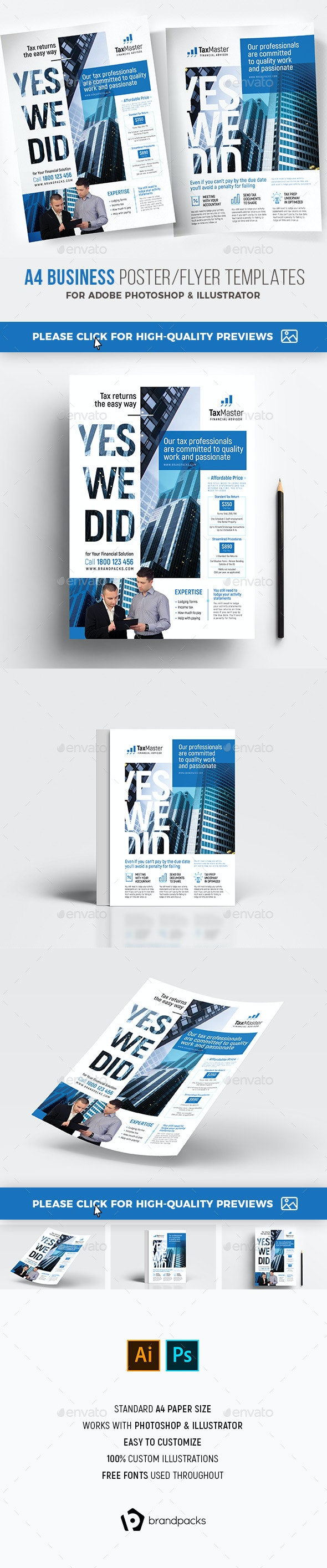 Business Flyer/Poster - Corporate Flyers