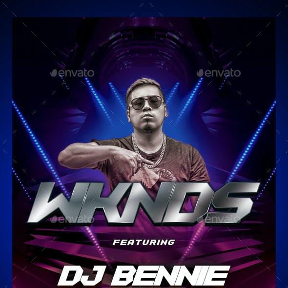 Nightclub DJ Flyer