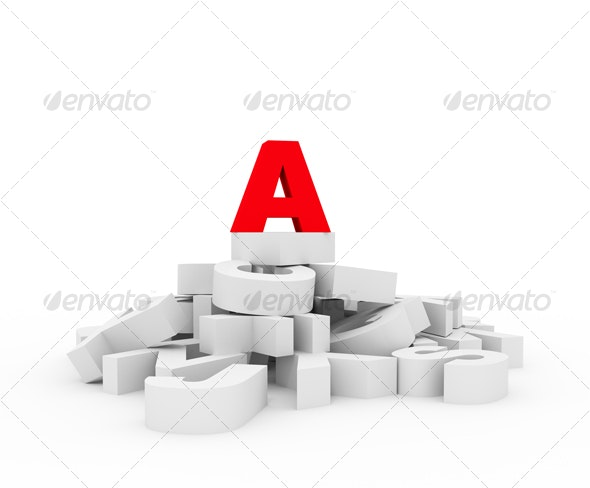 Concept of leadership in education - 3D Backgrounds