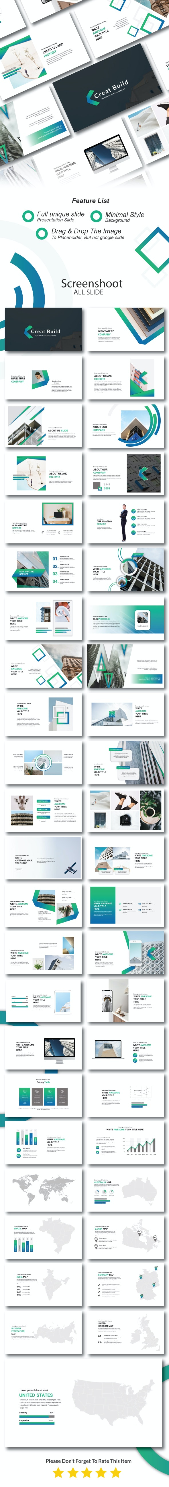 Creat Build Presentation Template - Creative PowerPoint Templates