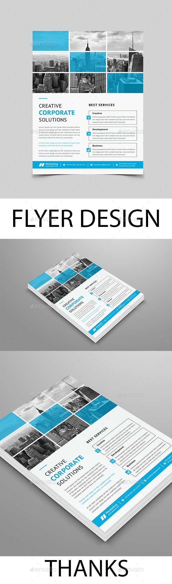 Flyer Design - Flyers Print Templates