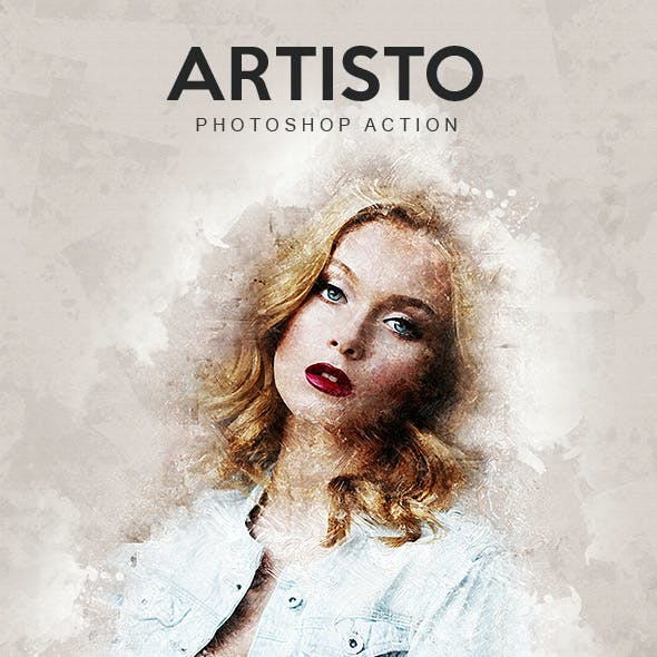 Artisto - Photoshop Action