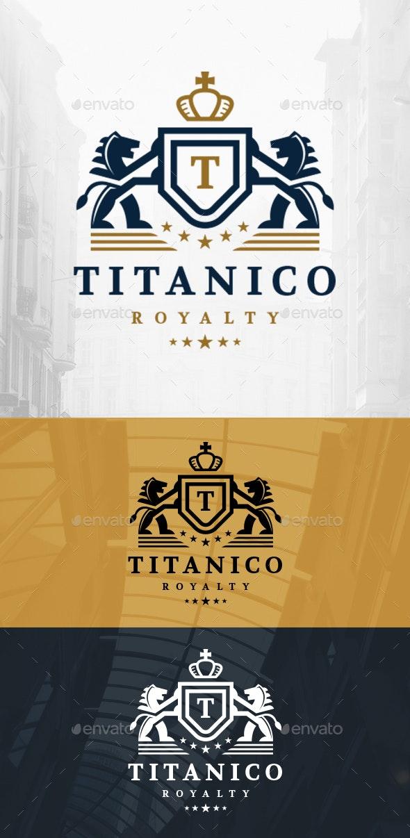 Lions Crown Crest Logo - Crests Logo Templates