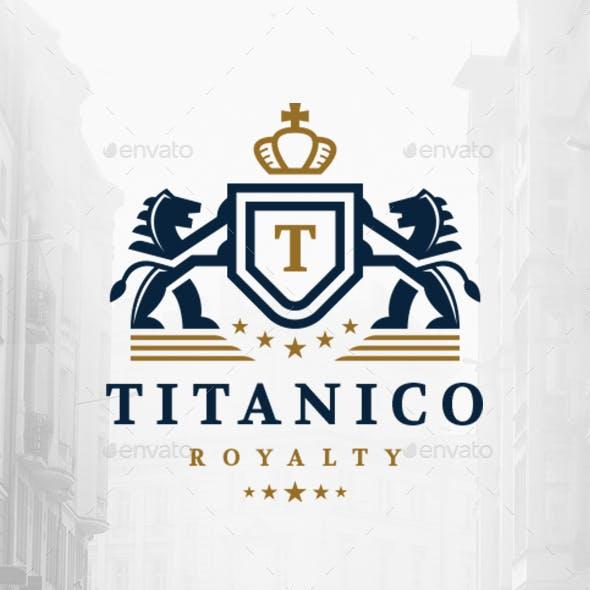 Lions Crown Crest Logo