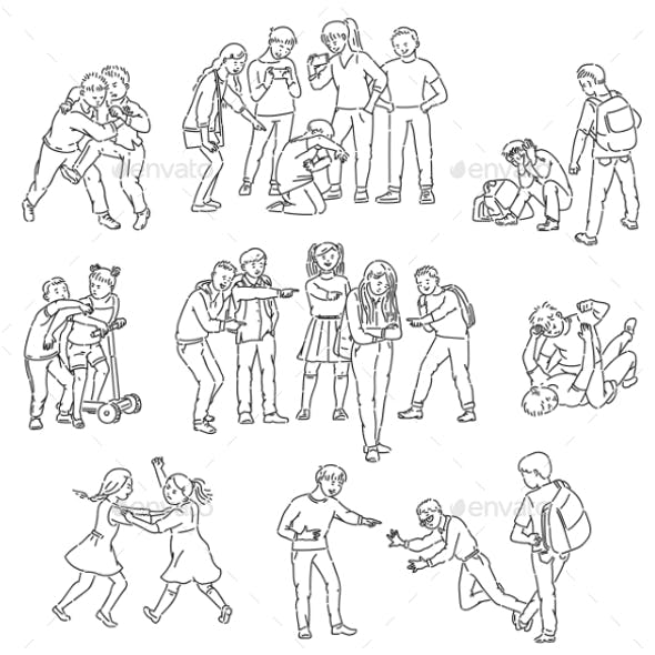 Outline Sets of Conflict and Fights