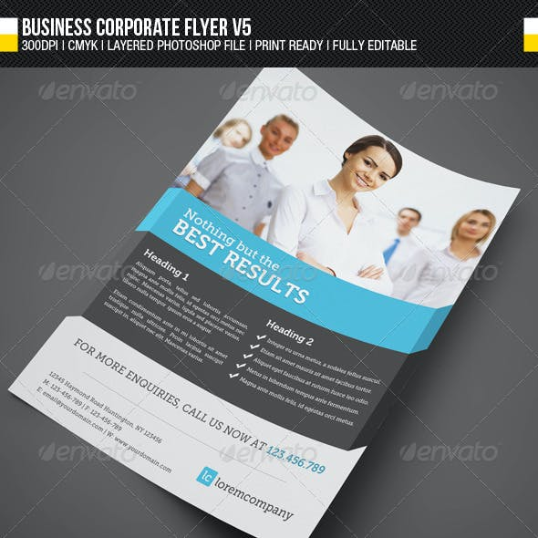 Business Corporate Flyer V5