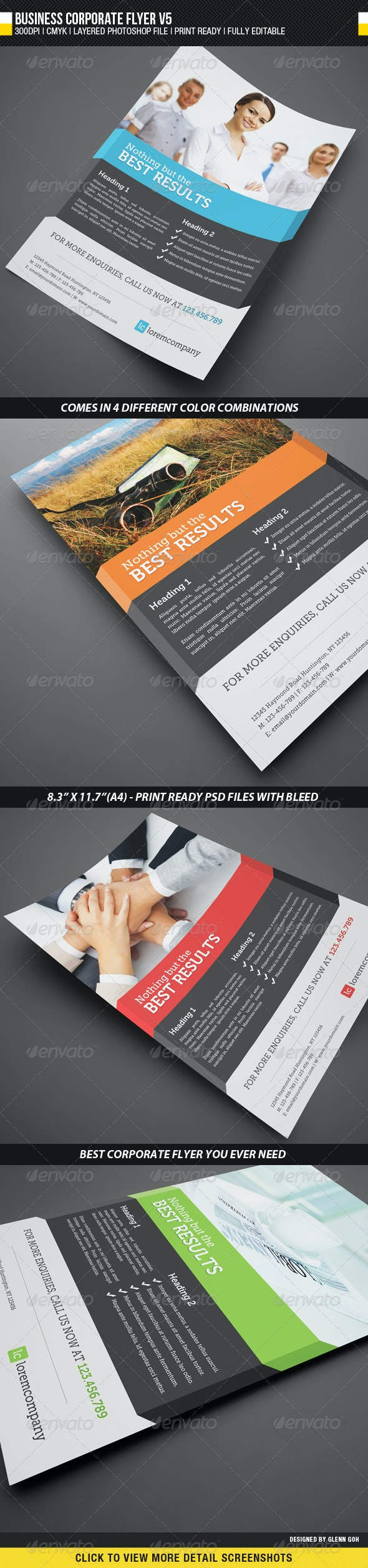 Business Corporate Flyer V5 - Corporate Flyers