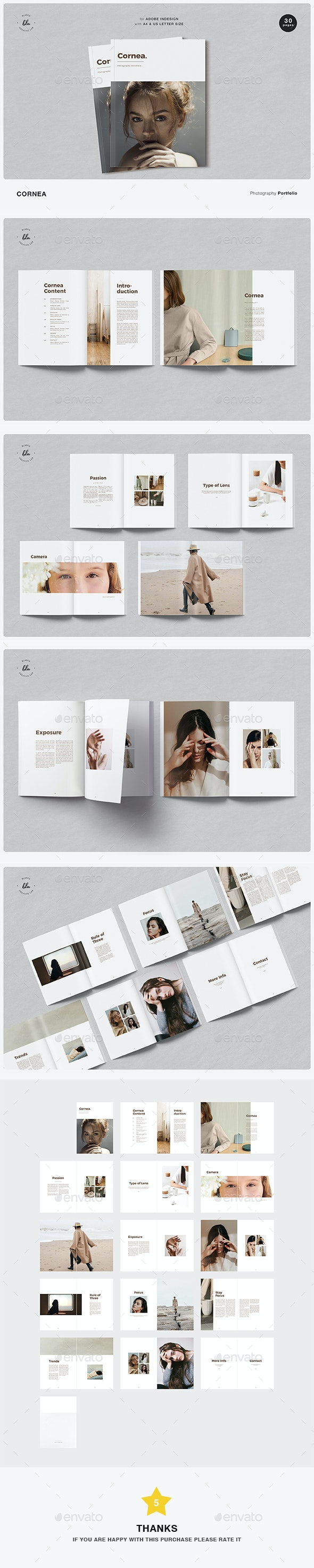 Cornea Photography Magazine - Magazines Print Templates