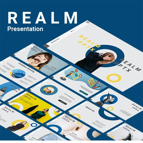 Startup Product Promotion - Realm Presentation